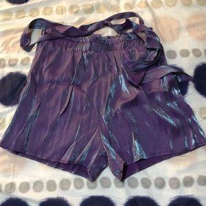 💜Shiny Purple Shorts✨